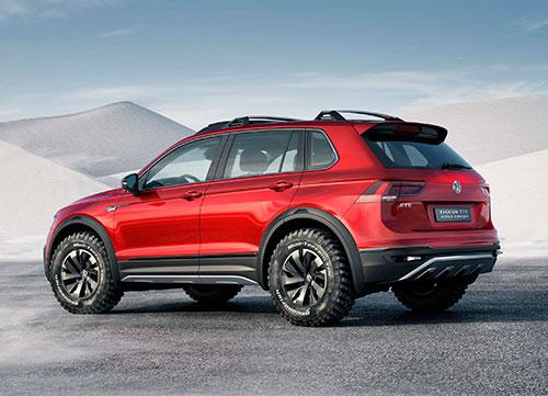 Primicia mundial en Detroit: VW Tiguan GTE Active Concept