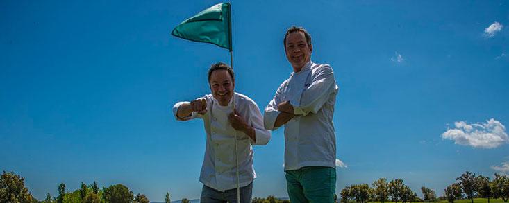 Golf y gastronomía con los hermanos Torres