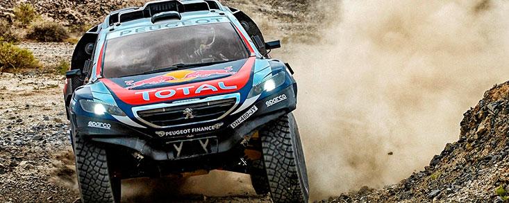"""Un rallye """"placentero"""" para el Peugeot 2008 DKR"""