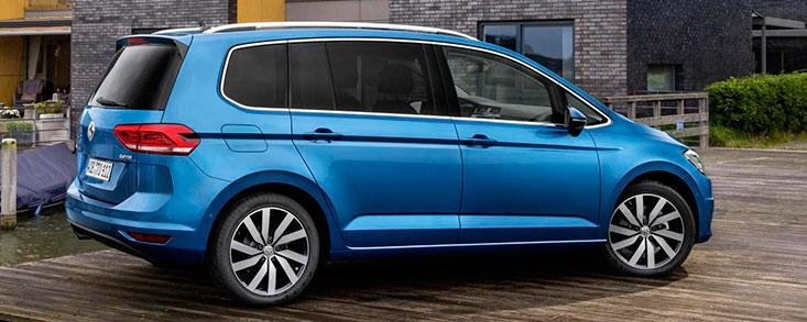 Volkswagen Touran, más eficiente, versátil y seguro