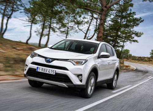 Respeto medioambiental con el Toyota RAV4 hybrid