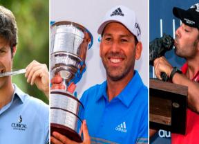 Campillo, Larrazábal y García sumaron victorias en el European Tour