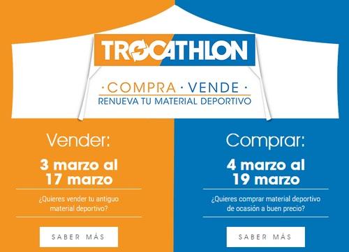 Compra, vende y renueva tu material deportivo en Decathlon del 3 al 19 de marzo