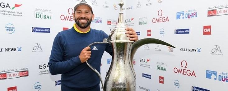 Sergio García da un paso al frente, gana en Dubai su duodécima prueba en Europa