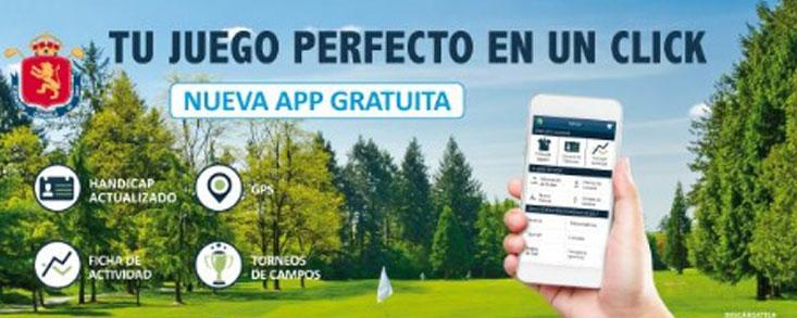 Nueva versión de la App de la RFEG
