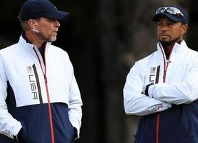 Tiger Woods, protagonista en el equipo americano a distancia