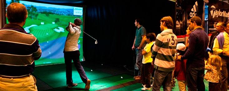 Todo listo para Unigolf, la feria del golf