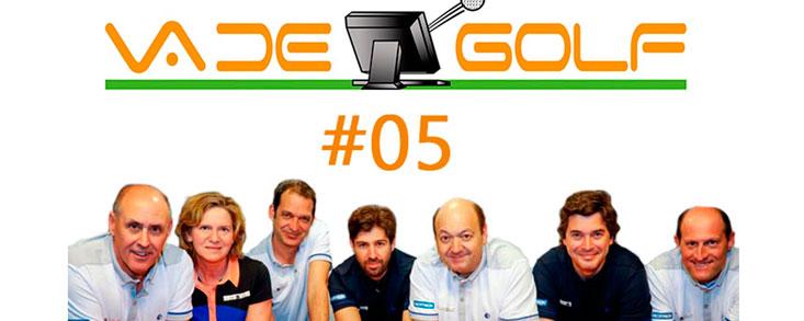 Iñaki Cano, mucho golf solidario y una vicecapitana de la Solheim Cup