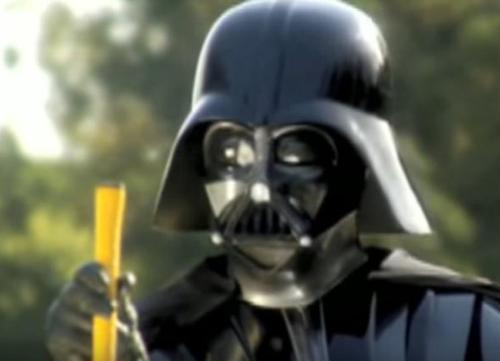 ¿Y si Darth Vader jugara al golf?