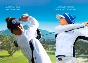 Anne Van Dam y Azahara Muñoz, duelo mágico en Aloha Golf