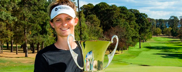 Anne Van Dam alcanza en Canberra su cuarto triunfo en el LET