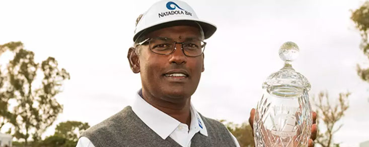 Vijay Singh consigue su primera victoria en el PGA Champions