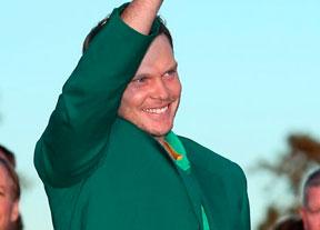 Danny Willettt le quita a Jordan Spieth la Chaqueta Verde