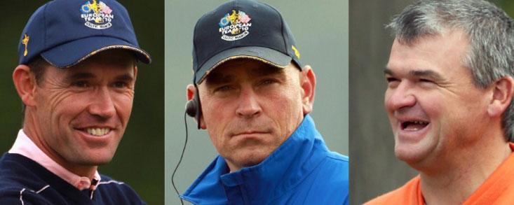 Darren Clarke nombra a 3 de los 5 vicecapitanes: Bjorn, Harrington y Lawrie
