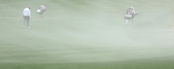 El fuerte viento obliga a suspender la segunda jornada del torneo