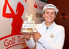Virginia Espejo gana la final del Santander Golf Tour