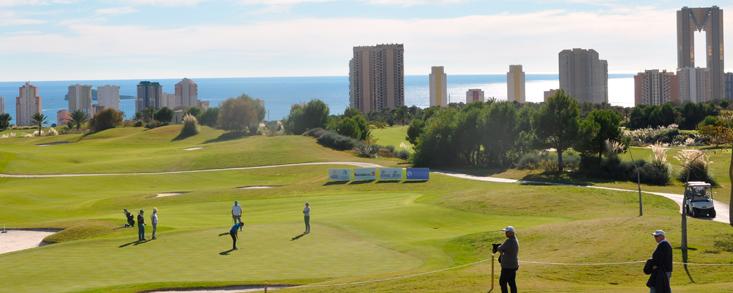 Un plantel histórico en Villaitana Golf