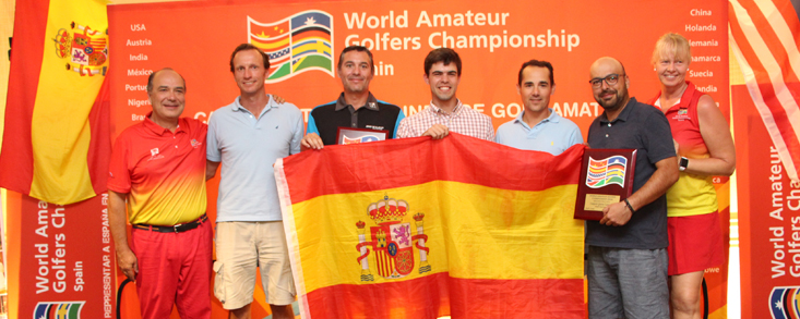 Los cinco de España para la final mundial de golf amateur WAGC 2018