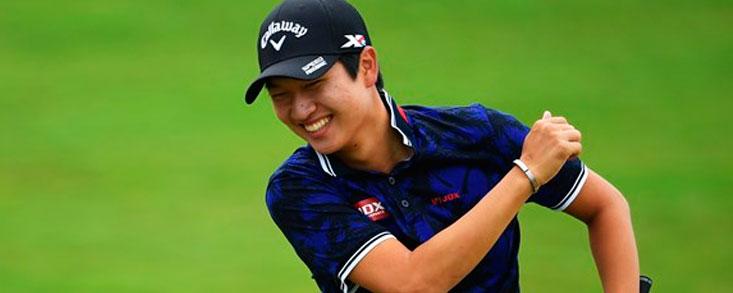Jeunghun Wang, Rookie del Año