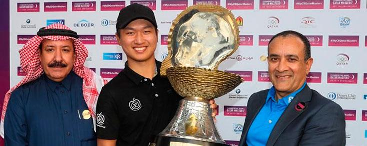 Jeunghun Wang gana en Qatar y Cabrera y Elvira terminan sextos a dos golpes
