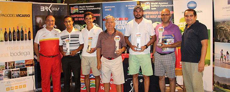 Campeones en El Olivar de la Hinojosa