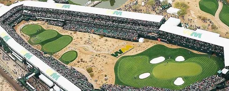 Comienza el mayor show de golf del mundo en el TPC de Scottsdale