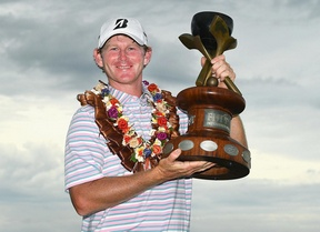 Gran victoria de Brandt Snedeker en Fiji