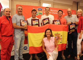 El 'Team Golf Spain WAGC 2017', rumbo a Malasia