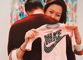 Michelle Wie espera su primera hija
