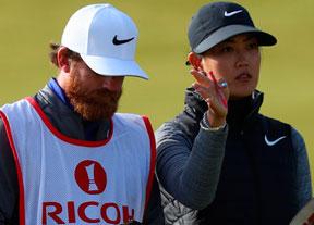 Michelle Wie ataca primero en Escocia