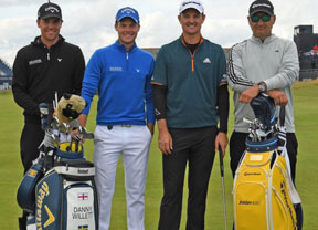 Johnson, Day, McIlroy y Spieth, los grandes favoritos