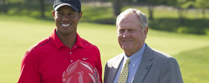 Jack Nicklaus sigue siendo referencia para Woods