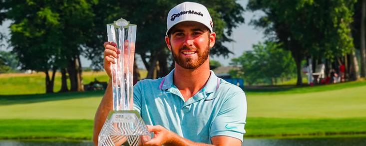 Un eagle en el 18 da a Matthew Wolff su primera victoria en el PGA Tour
