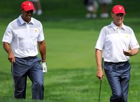 Saltan todas las alarmas en Dubai: Tiger Woods se retira por un espasmo en la espalda