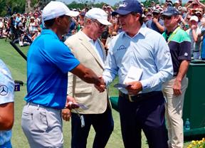Discreto comienzo de Tiger que confirma que irá al Open Championship