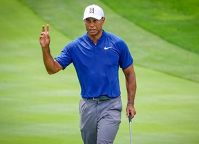 Tiger comienza con cuatro bajo par y se deja un único bogey en el 18