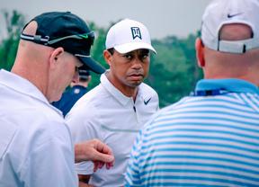 Vea los mejores golpes de Tiger Woods tras la primera jornada del torneo