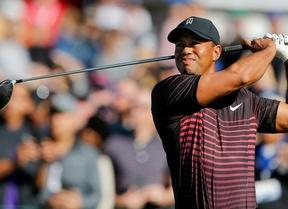 Buenas sensaciones de Tiger Woods (par) en Torrey Pines en su vuelta al PGA Tour