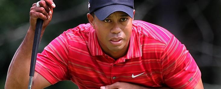 Las casas de apuestas no creen en Tiger Woods