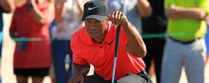 Tiger Woods, recalculando