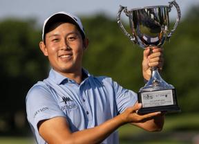 Brandon Wu gana el Korn Ferry Tour Championship