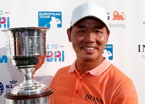 Ashun Wu logra su tercer triunfo en el European Tour