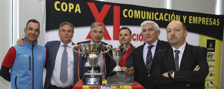 La Copa Comunicación y Empresas comienza a todo gas en el Jarama