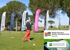 Comienza el Tour del WAGC Spain en el Campo de Aldeamayor Club de Golf