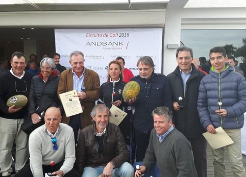 Primer torneo del circuito de golf Andbank