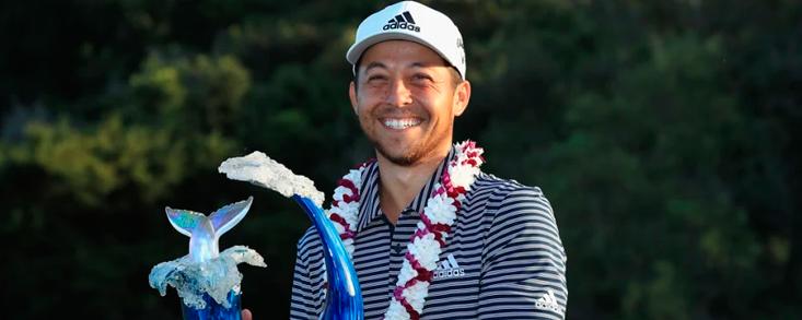 Xander Schauffele vuelve a dar la sorpresa y gana en Hawai