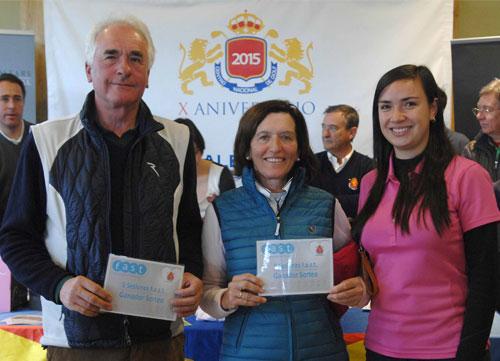 Joaquín Santa Elena y David Muñoz ganaron amor y golf en el CNG