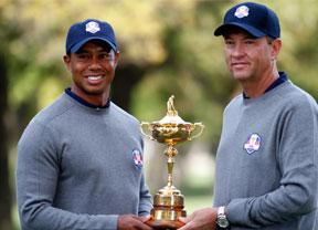 Davis Love III todavía cree que Tiger Woods podría jugar en el equipo
