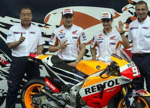 Repsol Honda desvela la nueva RC213V en Sentul, Jakarta