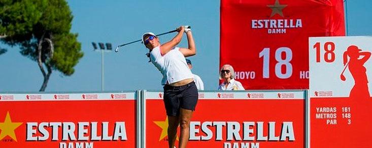 Carmen Alonso, segunda con -10, busca su gran oportunidad en Terramar
